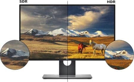 hdr compatible monitor
