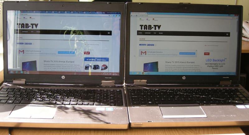glossy vs matte screen