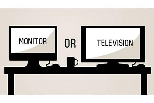 gaming on tv vs monitor