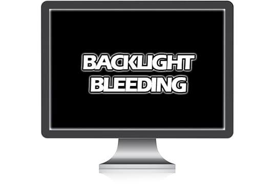 lcd screen bleed