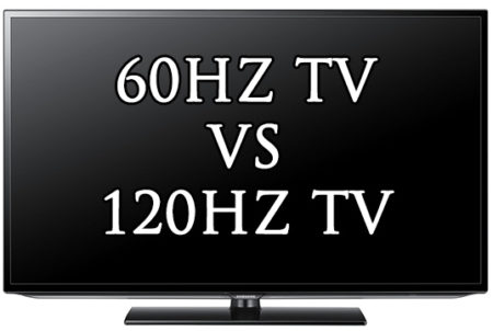 difference between 60hz and 120hz tv