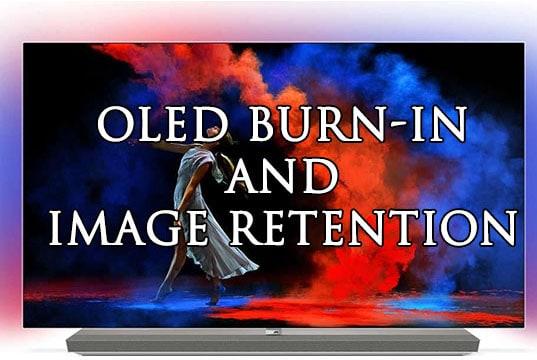 oled tv burn in fix