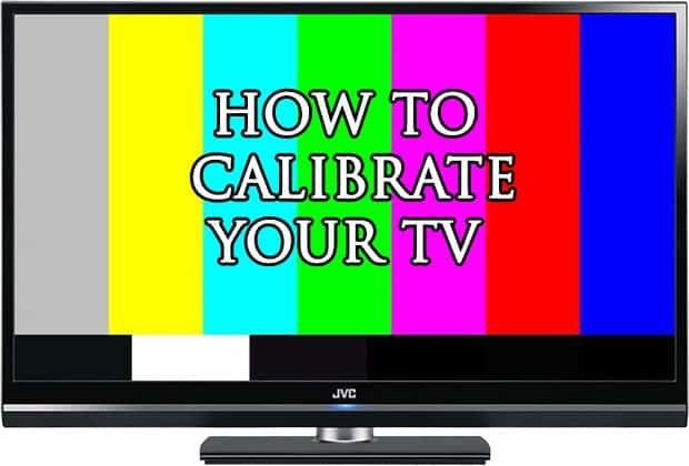 tv calibration website