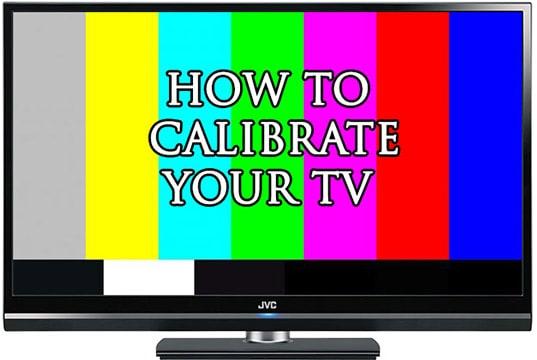 tv picture calibration
