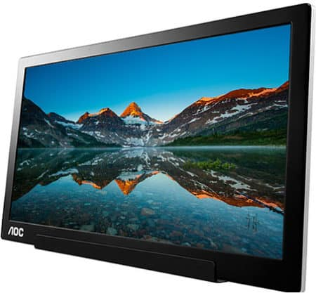 AOC I1601FWUX portable monitor