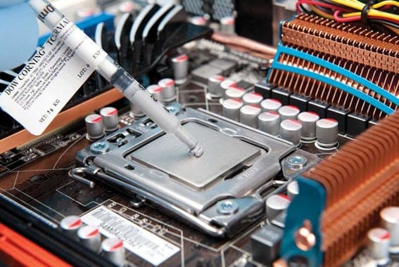 How To Apply Thermal Paste Cpu