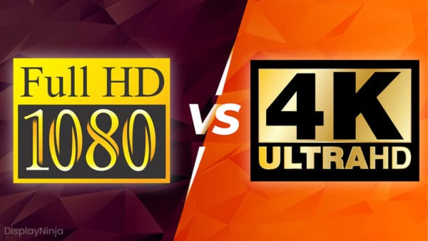 1080p vs 4K Ultra HD