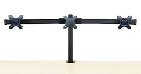 EZM Deluxe 002 0019 Triple Monitor Stand