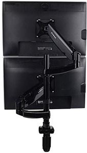 Loctek Dual Stacking Monitor Arm