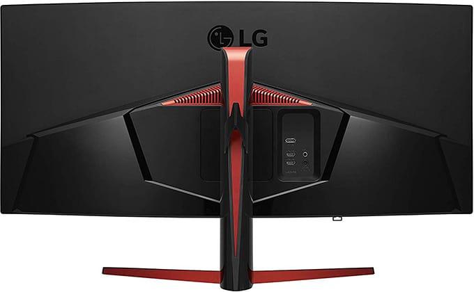 lg 34gl750 monitor back
