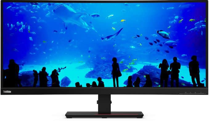 lenovo thinkvision t34w 20 monitor