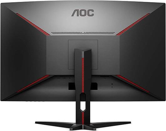 aoc c32g1 monitor back