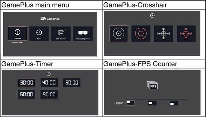 asus gameplus features
