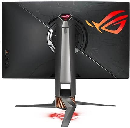 asus rog swift pg27uq monitor back