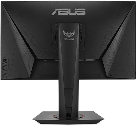 asus vg259qm monitor back