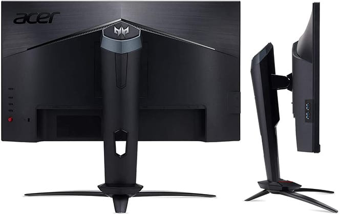 acer xb253qgp monitor back