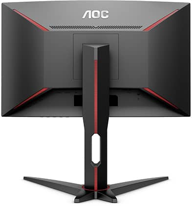 aoc c24g1 monitor back