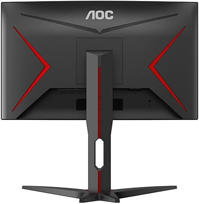 aoc c24g1a monitor back