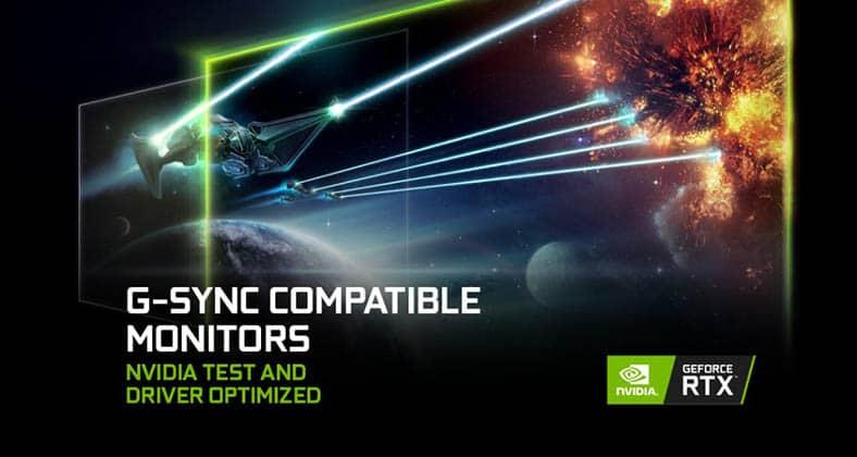 nvidia g sync compatible monitors