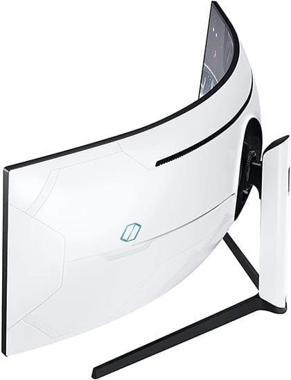 samsung odyssey c49g95t monitor design
