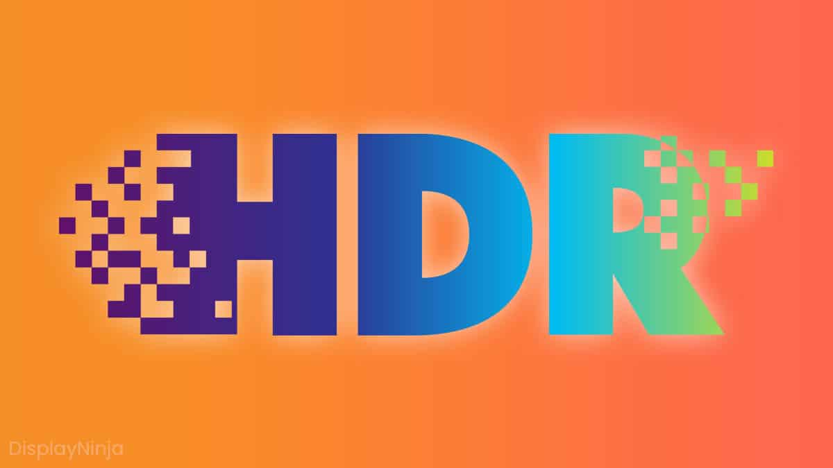 HDR For Monitors