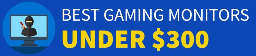Best Gaming Monitor Under 300