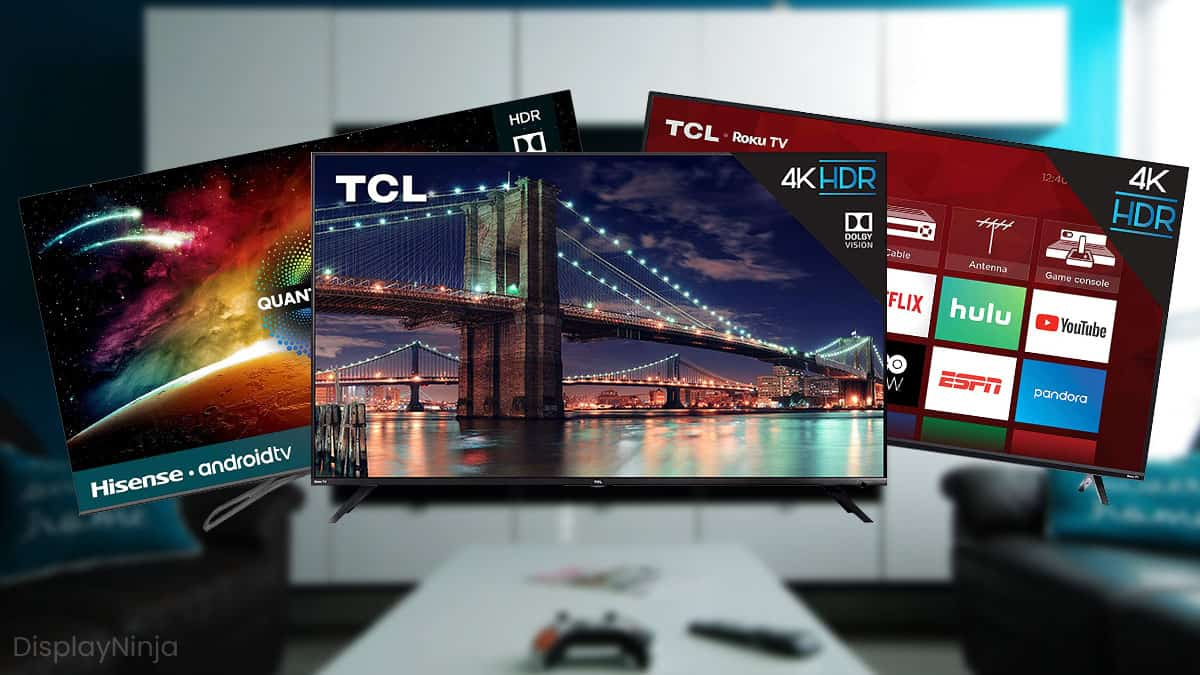 Best Gaming TVs For PS4 And Xbox One