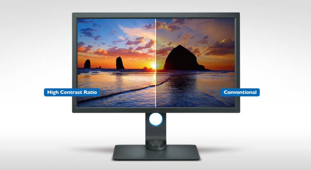 monitor contrast ratio