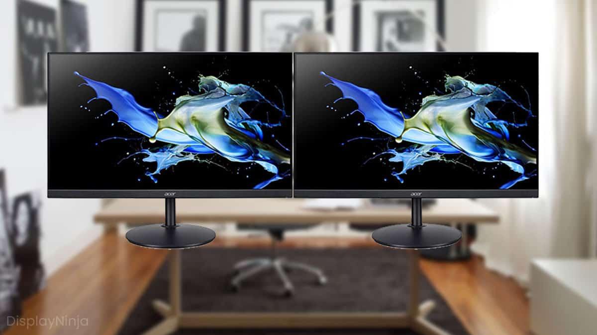 Best Dual Setup Monitors