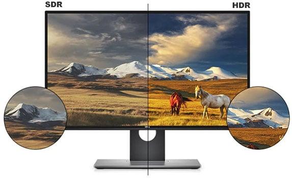 SDR vs HDR Monitor