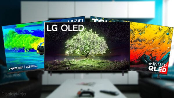 Best TVs For Gaming On PS4 Pro And XBOX One X
