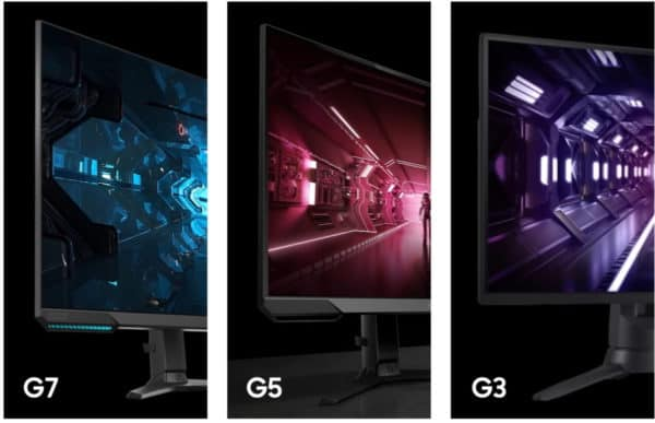Samsung Odyssey G7 Flat screen