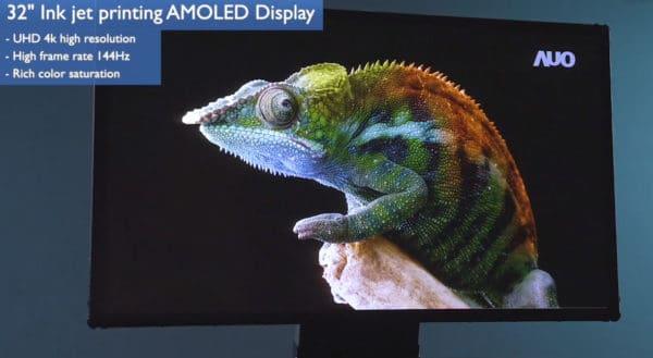 AUO 32 inch 4K 144Hz OLED Panel