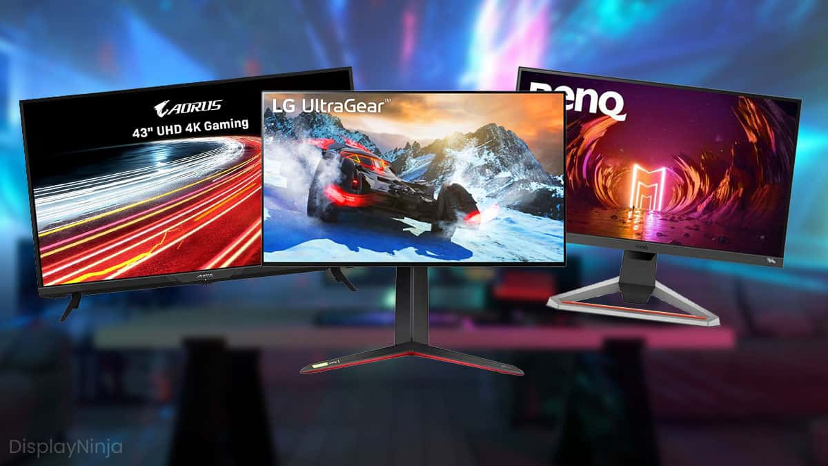 Best Gaming Monitors For the PS5 and the Xbox Series X