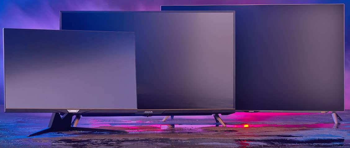 New Gigabyte Monitors