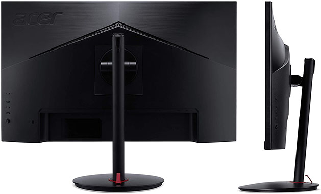 Acer XV252QF Monitor Design