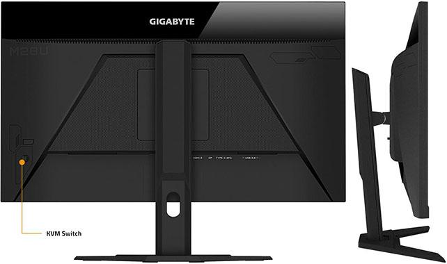 Gigabyte M28U Monitor Design