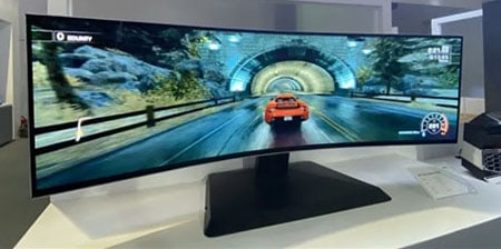 240Hz OLED UltraWide Gaming Monitor