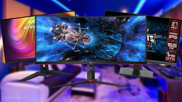 Best Gaming Monitors Under 500 USD
